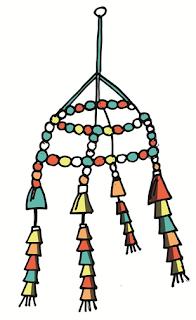 Membuat Wadah Uang Receh, Lampu Hias, Gantungan Hias, Lukisan Mozaik, dan Cermin Kontemporer