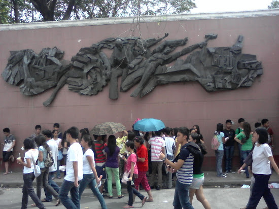 PUPCET Day - The Mural near the PUP-Sta. Mesa Entrance gate