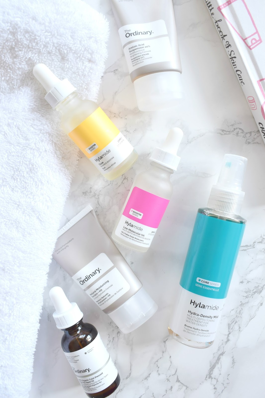 deciem/hylamide glow booster, low molecular hyaluronic acid, beautybay, boots, stockist, review month progress before after, hydra density mist, rosehip oil, cheap uk skincare, budget beauty