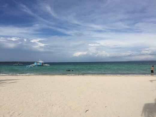 Stunning beach at Sta. Fe in Bantayan Island
