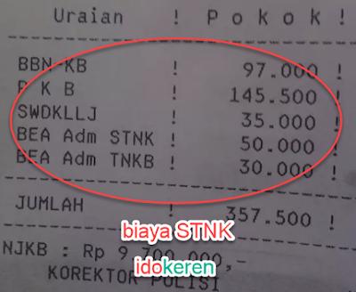 BIAYA STNK