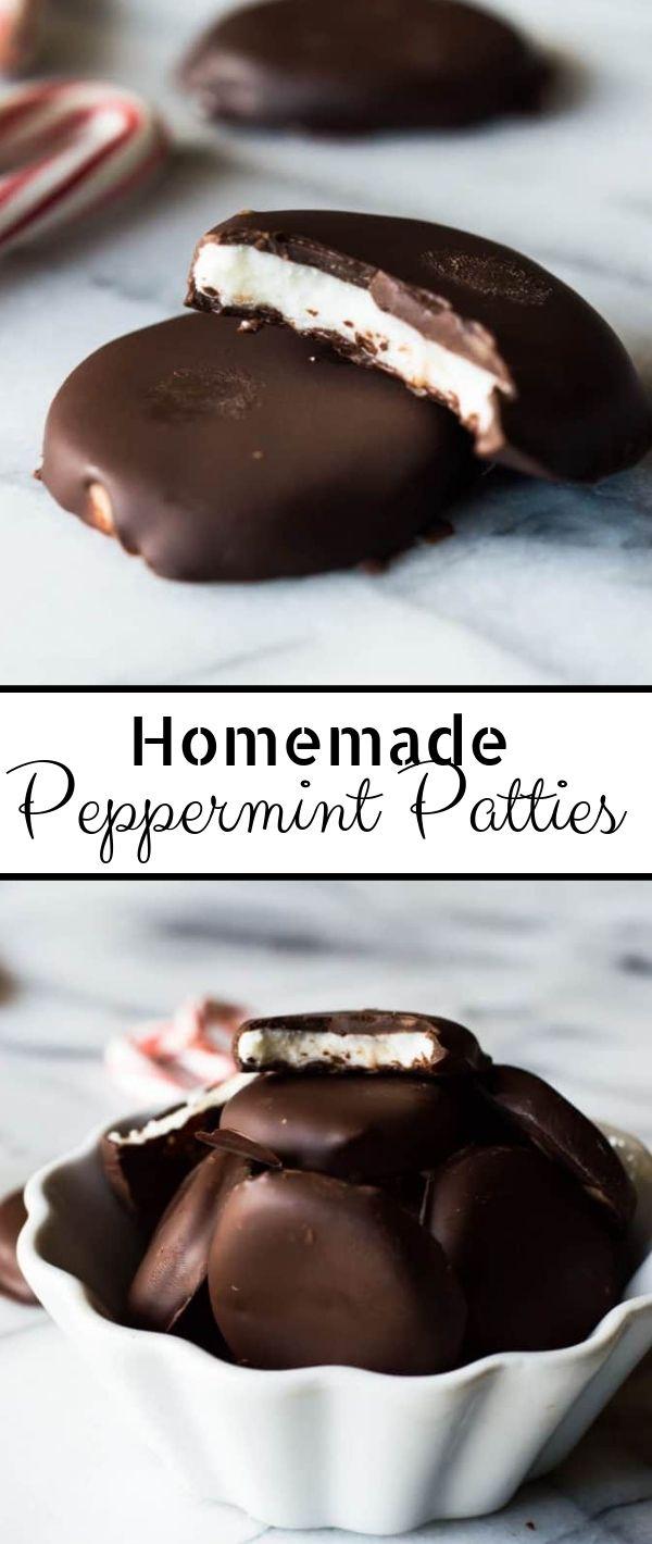 Homemade Peppermint Patties #Homemade #Peppermint #Patties Cake Recipes From Scratch, Cake Recipes Easy, Cake Recipes Pound,