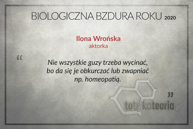 Ilona Wrońska Biologiczna Bzdura Roku