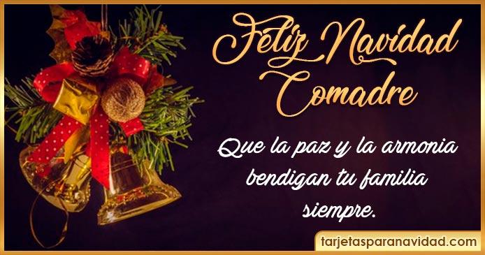 feliz navidad comadre