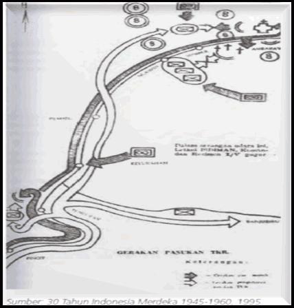 Peta Rute Gerilya Sudirman
