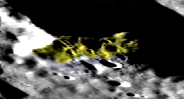 Extrañas formas en el lado oscuro de la luna, mapa lunar LROC, fotos