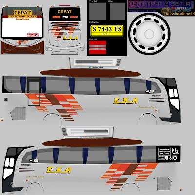 livery bus eka