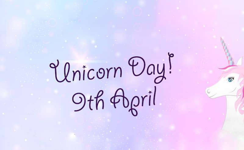 National Unicorn Day Wishes Awesome Picture