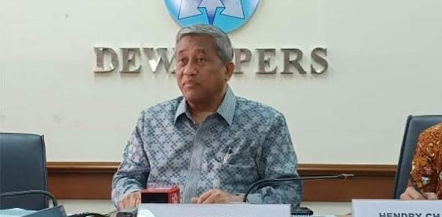 Dewan Pers Kutuk Aksi Peretasan Dan Doxing Terhadap Sejumlah Media
