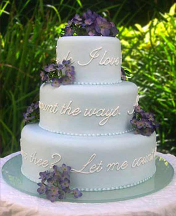 wedding cake love poem wedding inspiration center 12 amazing and inspiring 23098