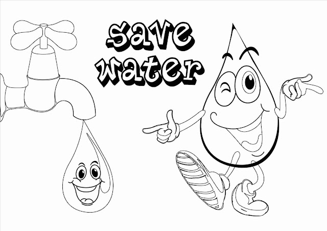 Save Water Drawings & Posters on Save Water