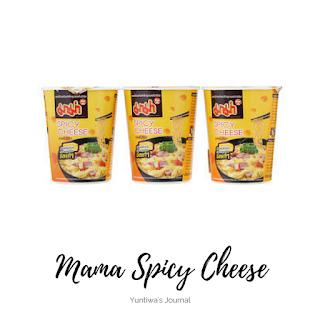 oleh-oleh makanan ringan khas thailand - mama spicy cheese