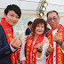 CWNTP 孟澔當姻緣大使 夏于喬爸媽驚喜現身為愛女點姻緣燈