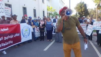 النقابة الوطنية للمياه والغابات