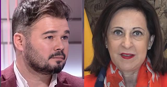 Gabriel Rufián y Margarita Robles