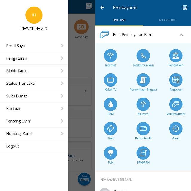 review aplikasi livin mandiri