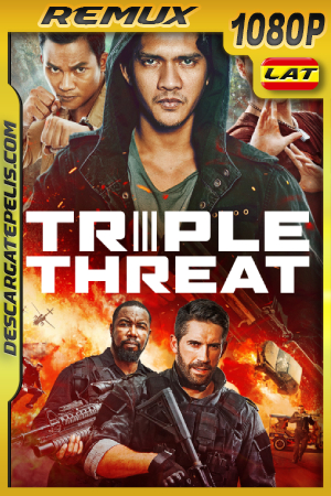 Triple Amenaza (2019) 1080P BDREMUX Latino – Ingles