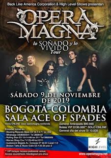POS Concierto de OPERA MAGNA en Bogotá