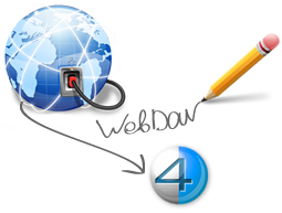 How to use WebDAV to synchronize with 4shared settings in Enpass Password Manager?