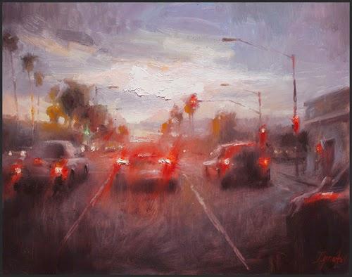No Semáforo - Ignat Ignatov e suas mais belas pinturas  ~ Pintora russa