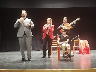 Félix Crujera junto Mari Carmen