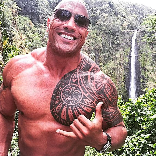 Dwayne The Rock Johnson Mana. tbt