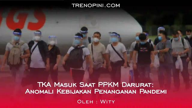 Kebijakan Pemberlakuan Pembatasan Kegiatan Masyarakat (PPKM) Darurat mulai diterapkan sejak 3 Juli 2021. Selama penerapan kebijakan tersebut, Wakil Ketua DPR RI Sufmi Dasco Ahmad meminta pemerintah melarang warga negara asing (WNA) masuk ke Indonesia, baik  dengan alasan berwisata maupun bekerja.