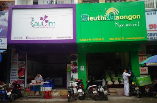 Điểm bán gạo ST25 Hải Phòng
