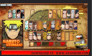 Character Naruto Senki Mod Shinobi Collection