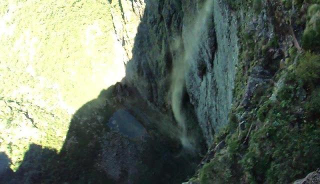 Poço da cachoeira da Fumaça