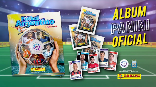 Panini lanza el nuevo Álbum Oficial del Fútbol Argentino con lo mejor de La Superliga Argentina de Fútbol