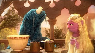 Cookie's Crumby Pictures Lord of the Crumbs, Gobble, cookie monster, Sesame Street Episode 4415 Rosita's Abuela season 44
