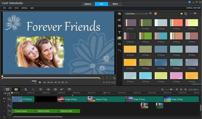 corel video studio pro free video editing. Black Bedroom Furniture Sets. Home Design Ideas