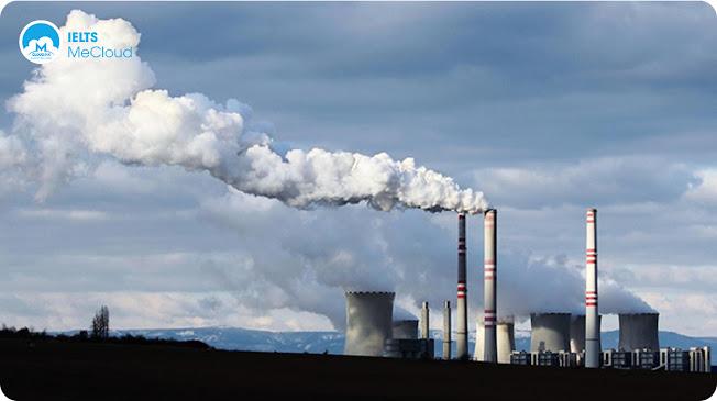 từ vựng tiếng Anh chủ đề môi trường - khí thải