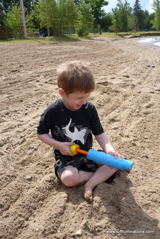 Ruff Ruminations Five Must Have Camping Beach Toys: Ruff Ruminations: Kinbrook Island Provincial Park Camping