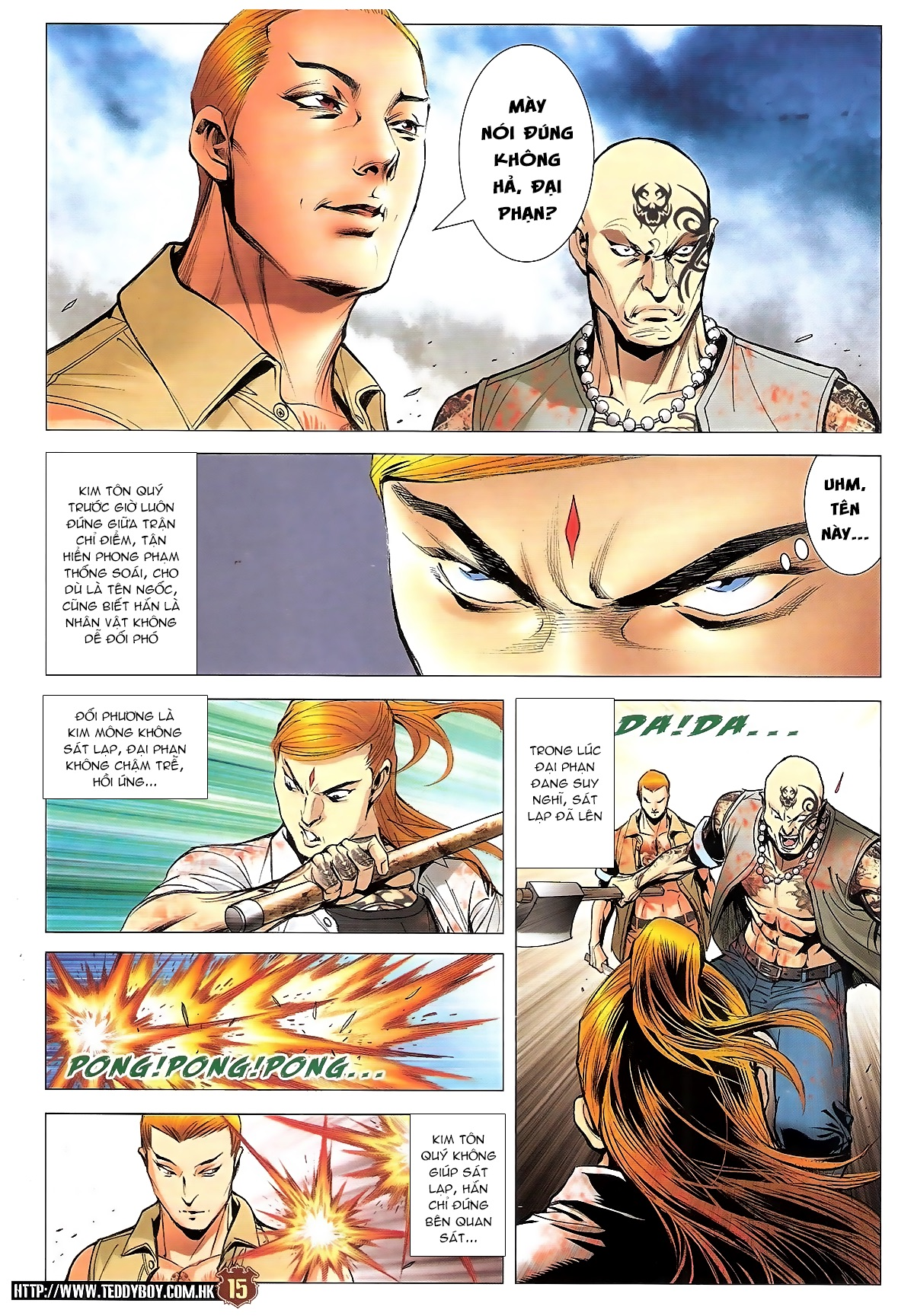 Người Trong Giang Hồ chapter 1834: kim mông không vs kim mông không trang 12