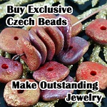 Buy Exclusive Czech Beads - Make outstanding jewelry