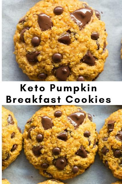 Keto Pumpkin Breakfast Cookies