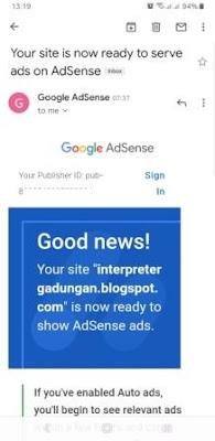 Berapa umur blog agar diterima adsense?