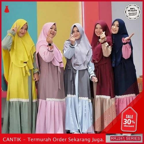 Jual RRJ241D182 Dress Muslim Moscrepe Wanita Sofie Syari Sf BMGShop