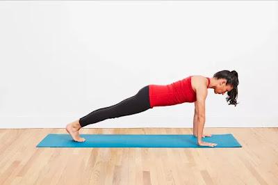 Mindful breath Yoga 4th pose