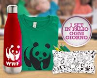 """Concorso Desideri Collection """"Porta a scuola la natura"""" : vinci gratis set WWF"""