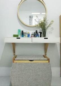 Trik Menempatkan Meja Rias Yang Tepat Untuk Ruanganmu