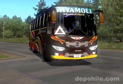 ETS2 1.36 Hino AK1J Otobüs Modu (10000 Beygir Süper Hızlı)