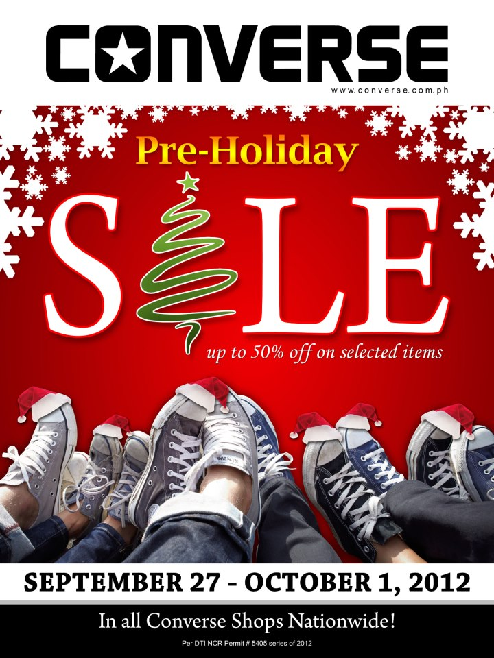 Converse Philippines Pre Holiday Sale 50 Off On Items