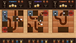 Roll the Ball: puzzle geser