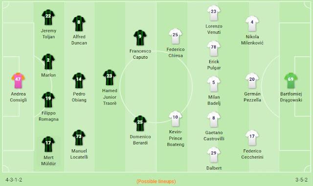 Prediksi Sassuolo vs Fiorentina — 31 Oktober 2019