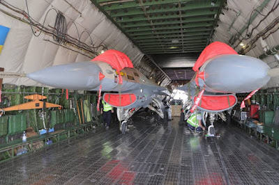 Canada Top Aces receives F16