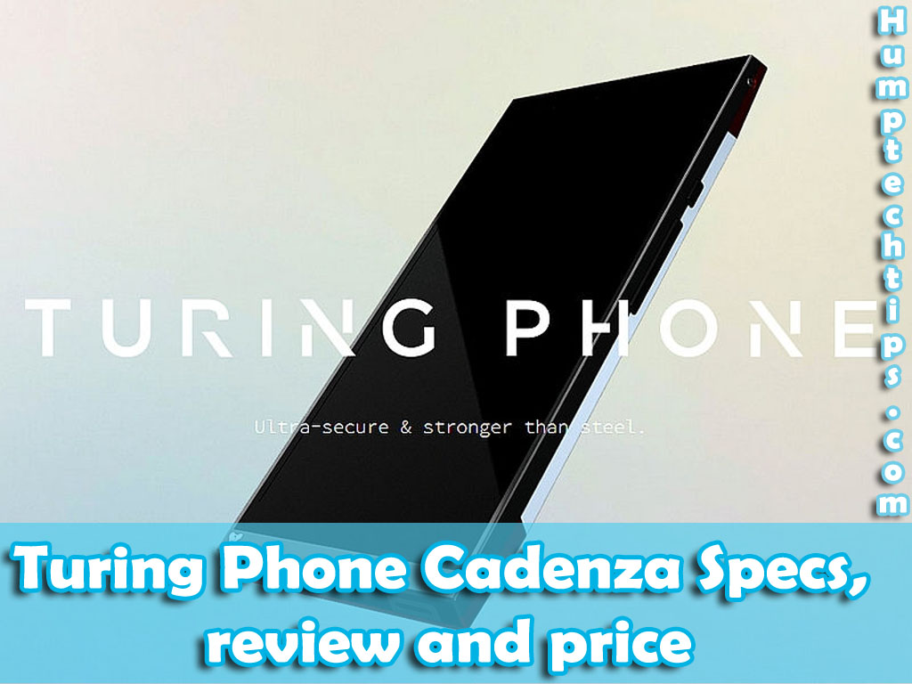 Turing phone cadenza reviews and specification