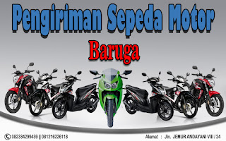 EKSPEDISI PENGIRIMAN MOTOR SURABAYA BARUGA